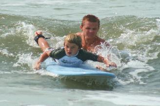surfing lessons nc