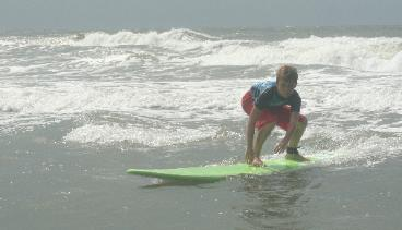 surfing lessons ocean isle
